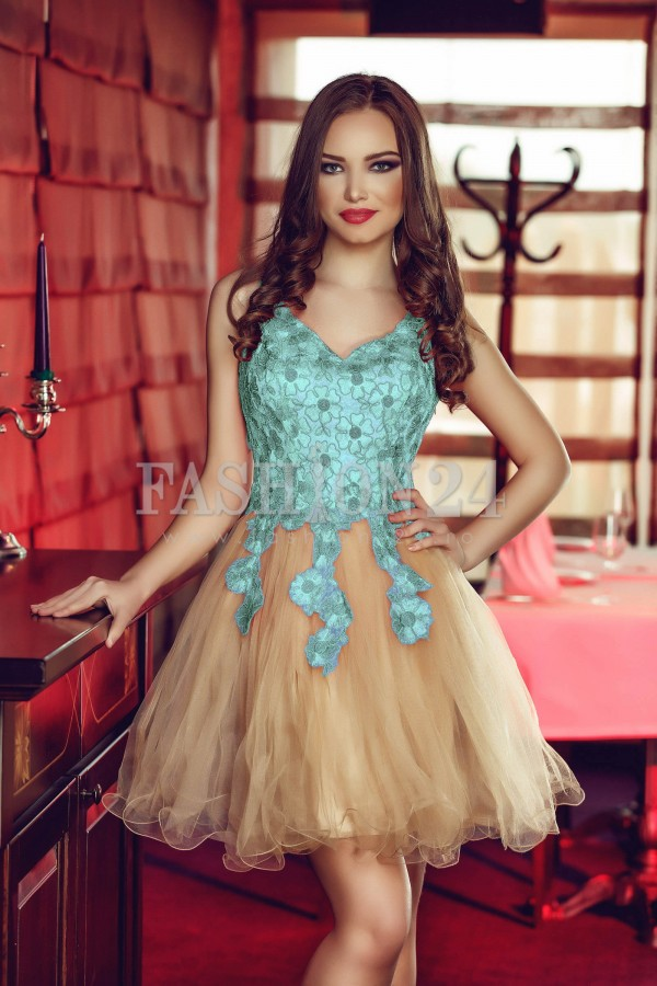 Rochie Turquoise Precious