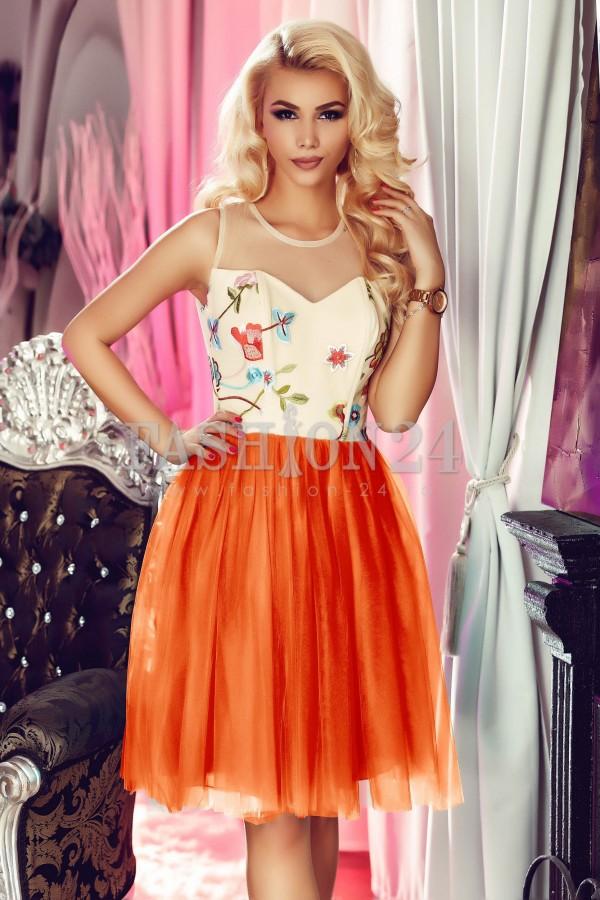 Rochie Orange Sense