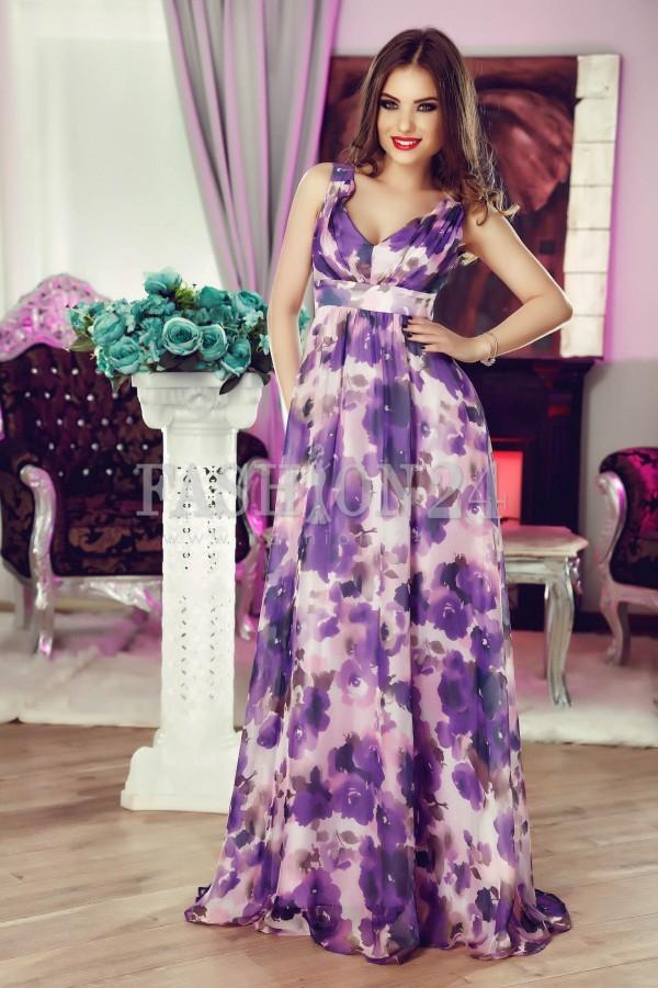 Rochie Purple Silk