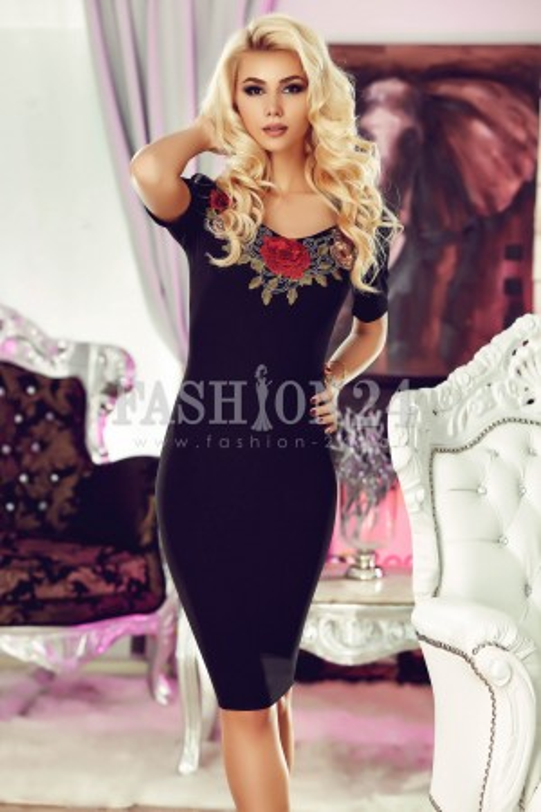 Rochie Black Rose