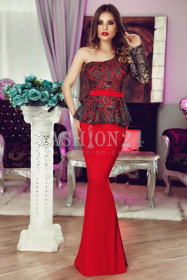 Rochie De Seara Rich Elite Red