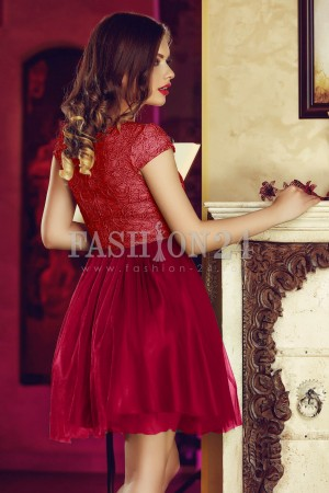 Rochie Red Tulle