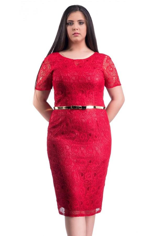 Rochie XXL Red Choice