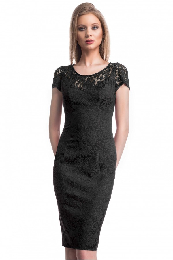 Rochie Selective Black