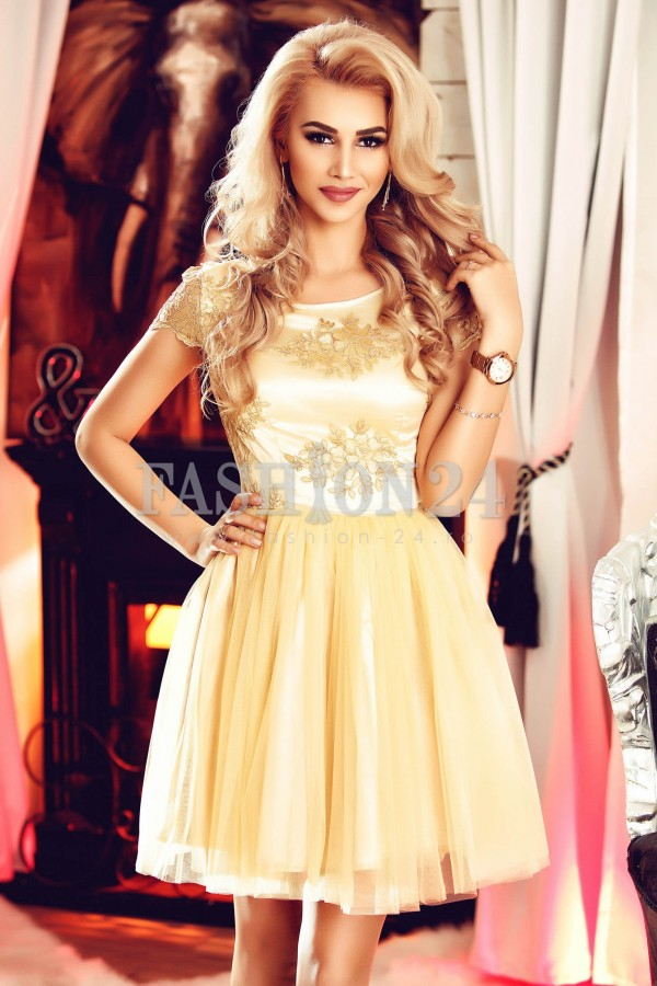 Rochie Unique Yellow
