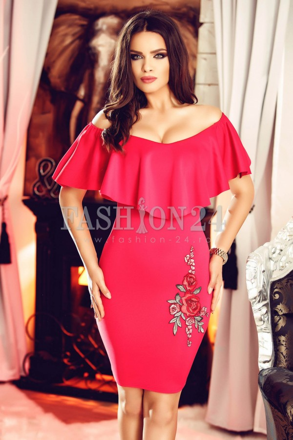 Imagine produs Rochie Light Red Passion