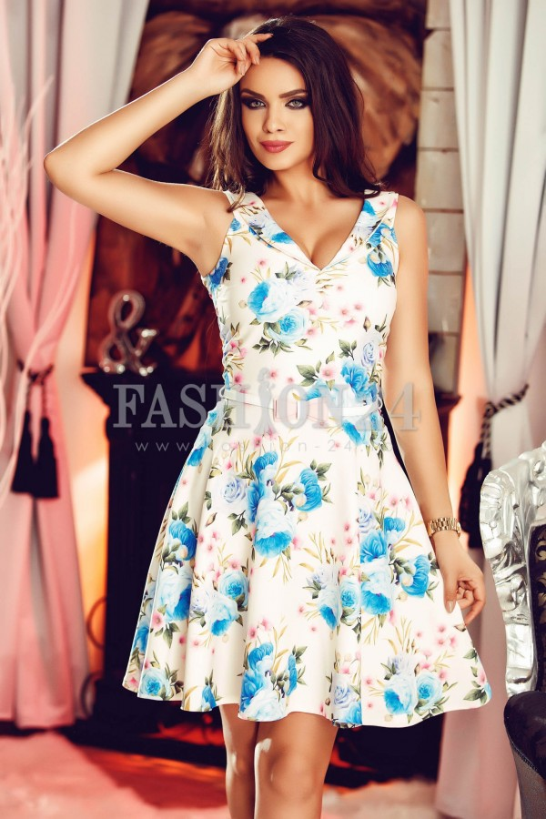 Rochie Azure Roses