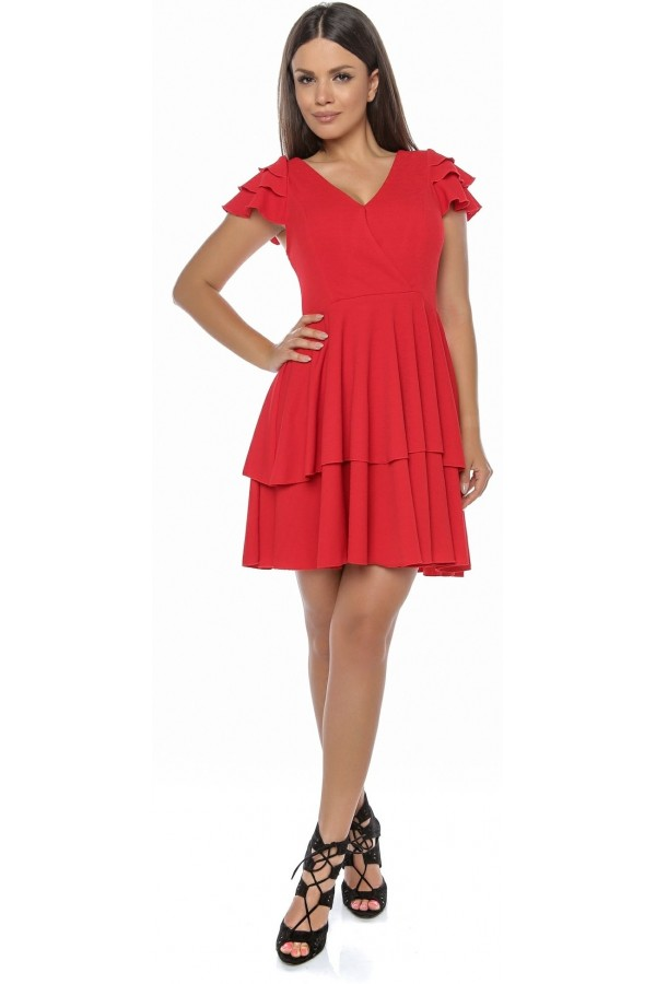 Rochie Natural Red