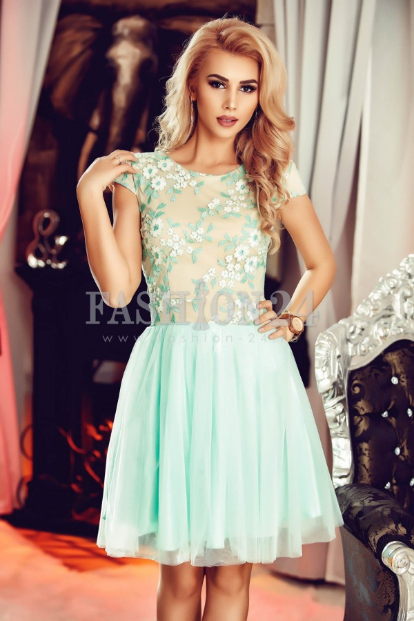 Rochie Kindly Turquoise