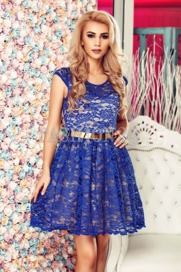 Rochie Blue Waves