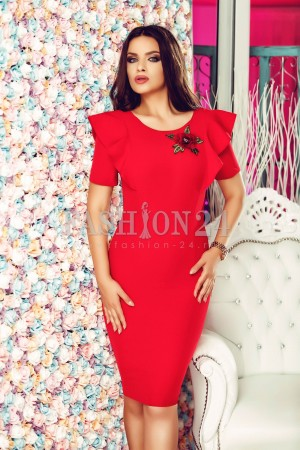 Rochie Red Clarity