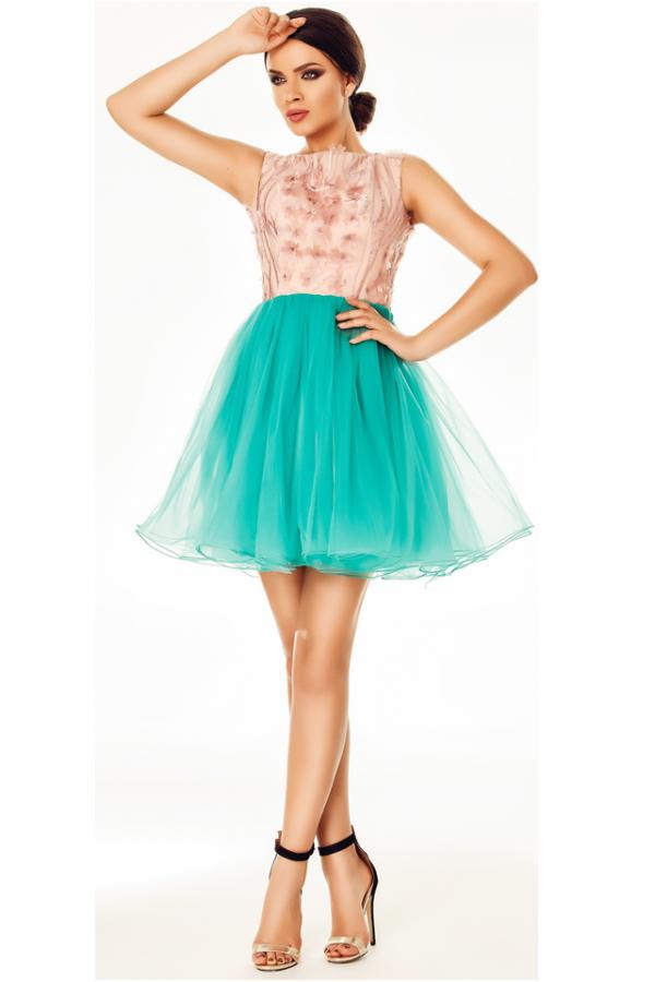 Rochie Selena Turquoise