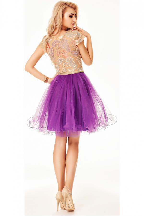Rochie Denisse Purple