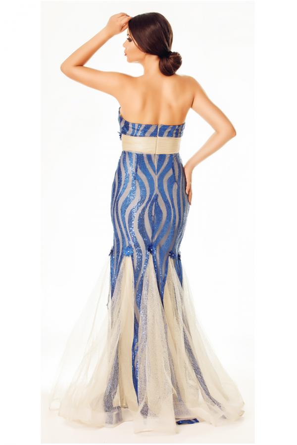 Rochie Loris Blue