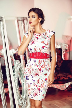 Rochie Edith Red
